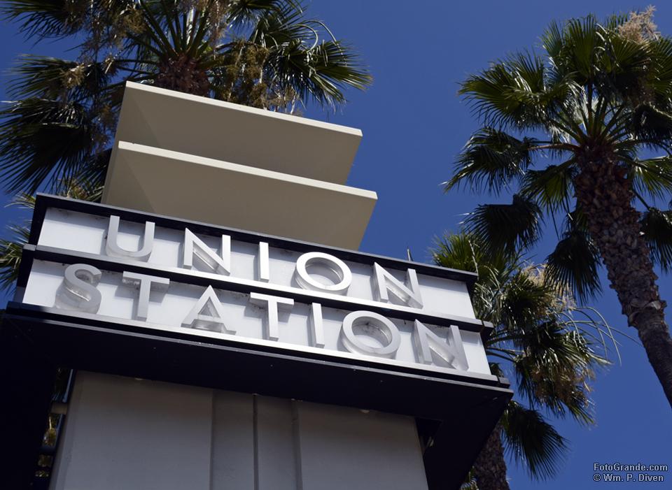 Union Station palms