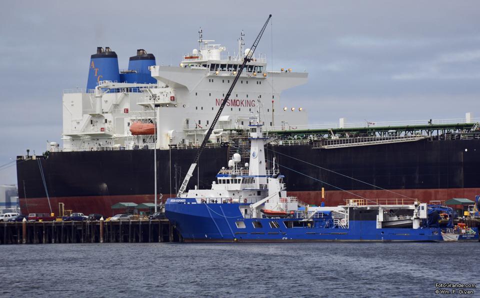 Alaska Horizon berthed